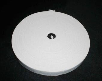 25 m of Red elastic width 2 cm