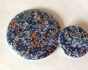 Mirror and Liberty Wilmslow Berry badge
