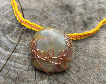 Mookaite Adjustable Choker / Layering Necklace