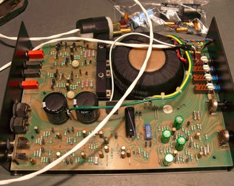 NAIM Nait 1 & 2 integrated amplifier complete repair and restoration service