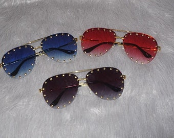 Gina Aviator Sunglasses