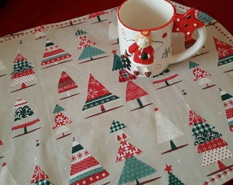 American placemat, Cotton placemat, breakfast, snack, snack, tablecloth