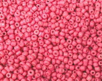 ♥ 10gr 2mm♥ salmon glass seed beads