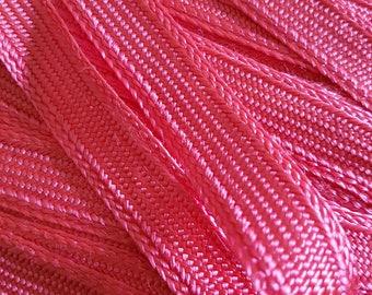 Moroccan SFIFA Ribbon stripe pink / fuchsia