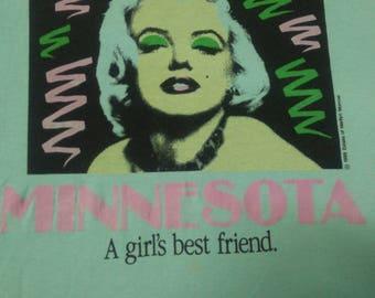 RARE Vintage MARILYN MONREO original t-shirt 80's