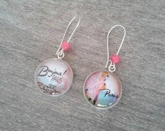Earrings sleepers Paris handmade ❤