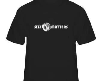 Size Matters Jeep shirt