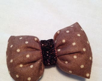 BARRETTE CLIP WITH BOW PADS