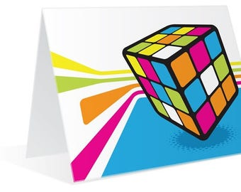 The Longer You Play With It - Rubiks Cube Greeting Card