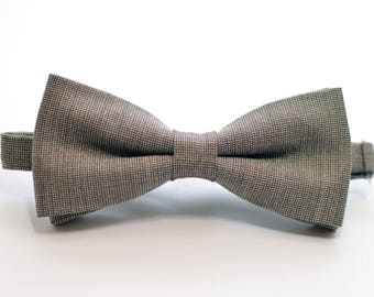 Taupe Brown Classic bowtie