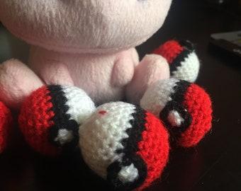 Handmade Pokeball Amigurumi-Pokemon