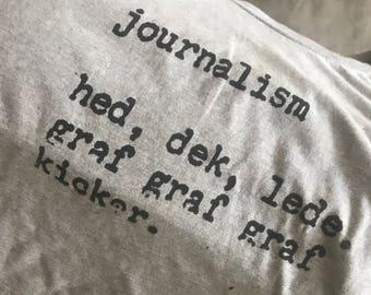 Journalism Tshirt