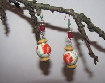 Asian inspired earrings