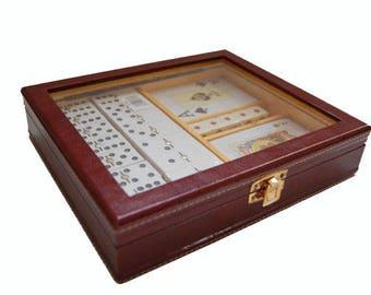 Box Board Games // Domino // POKER deck // Spanish deck // Dominoes // Card game