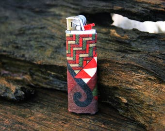 Maori Design Lighter Holders