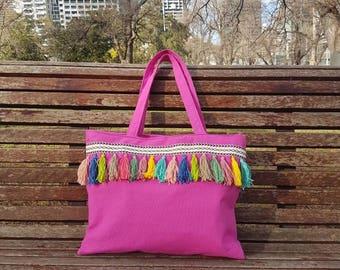 Boho Bag with tassels