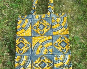 Tote bag / fabric wax (African fabric) 23005 bag