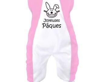 Easter baby onesie: Happy Easter