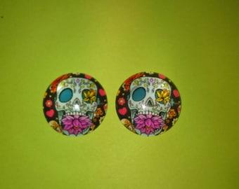 skull cameo skull glass model 1