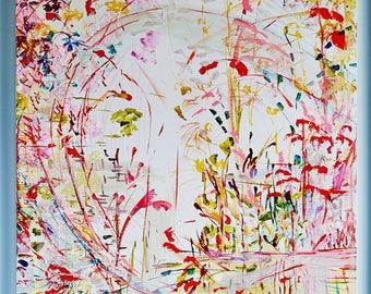 Acrylic on Canvas Painting Print