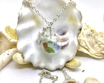 Sea Glass Globe