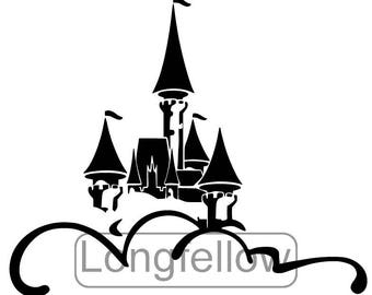 Magic Kingdom Castle SVG