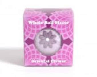 Oriental Flower Whole Ball Fizzer Boxed (Bath Bubble & Beyond))