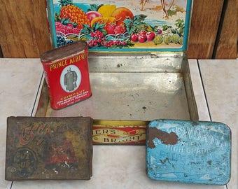 Great vintage tins