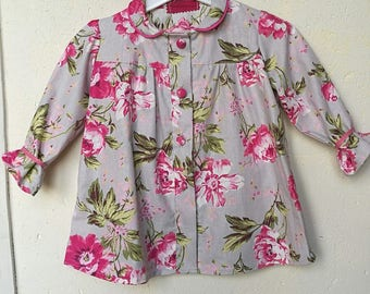 Pretty little spring flowered dress T 3 years