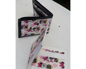 Minnie Mouse Bi-Fold Duct Tape Wallet