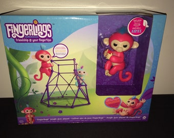 Jungle Gym Play Set - Amiee Collectable Fingerling Monkey