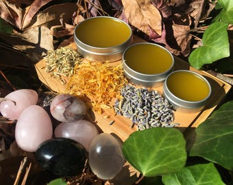Yoni Balm - Beeswax Free - Organic - Yoni Salve - Healing Salve - Vegan Balm - Vaginal Salve - Feminine Care - Anti Fungal Salve -