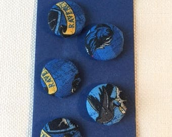 Ravenclaw House 23mm Buttons Set of 5