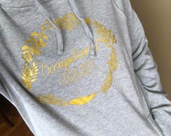 Occupational Therapy Hoodie Sweatshirt, OT hoodie, OT sweatshirt, OT pullover, hooded occupational sweatshirt, occupational therapist, Cota