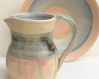 Porcelain Pitcher in Summer Blush