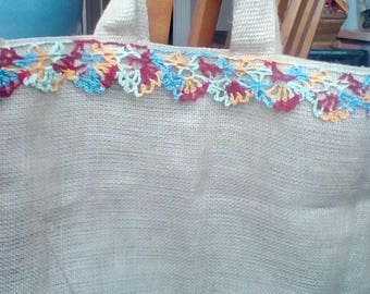 Colorful Canvas Totebag