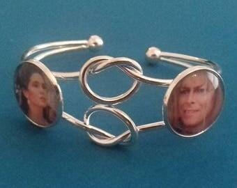 Labyrinth themed bracelet Sarah and Jareth