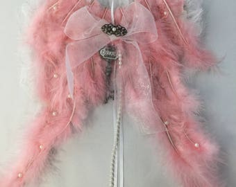 Angel Wings pink feathers