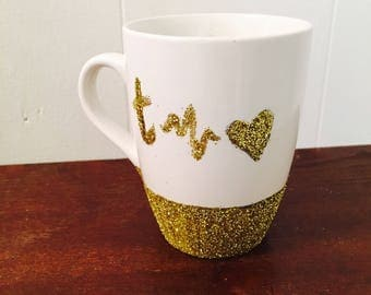 Faith Hope and Love Mug