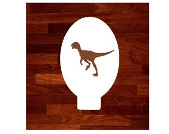 Dinosaur Face Paint Stencil