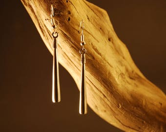 "Handcrafted and original earrings in Silver ""Gotita"""