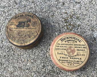 Vintage Veterinary Samples