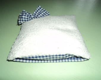 Small heating pad with washable cotton