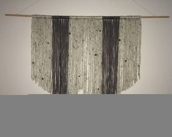 Yarn Wallhanging, Boho Home Decor