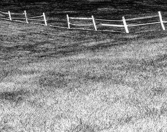 Landscape , Fine Art Photography, Nature Photography, Black and White, Print, Wall Art, Imaginary