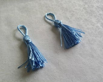 Deco individually, light blue tassel