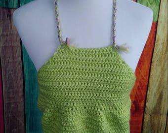 Crochet half halter