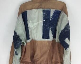Vintage 90's Nike big logo streetwear