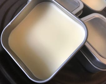 Men's Beard Butter with Vitamin E, Vitamin C, Coconut Oil and Beeswax Handmade by SterlingSoapCo