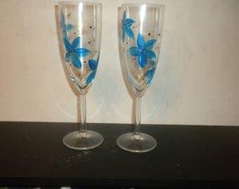 Champagne Flutes N13